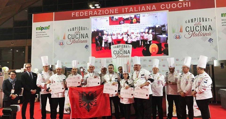 "Pjesëmarrja në ""Campionati della Cucina Italiana"""
